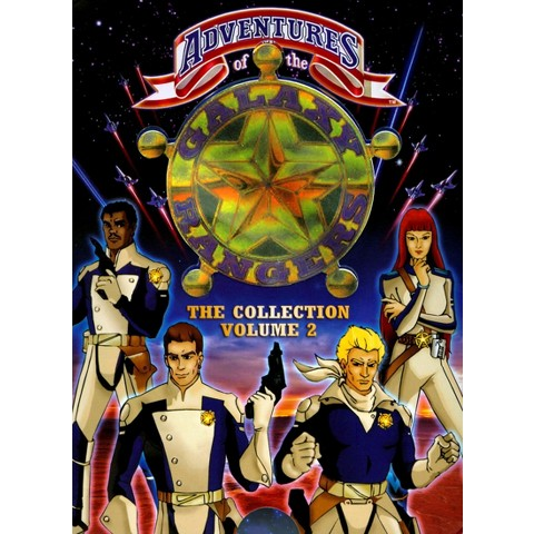 Adventures of the Galaxy Rangers Collection, Vol. 2 (4 Discs) (R)