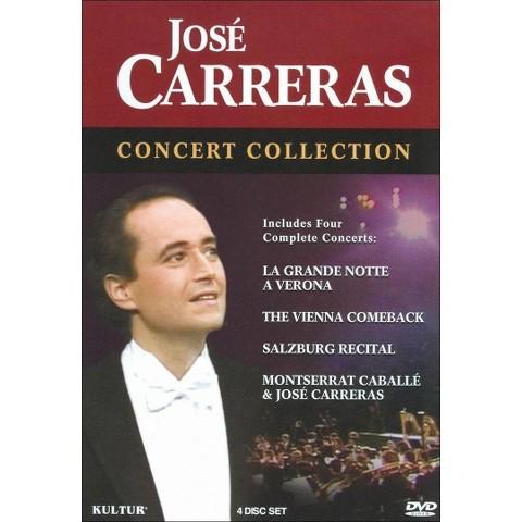 Jose Carreras: Concert Collection (4 Discs) (S)