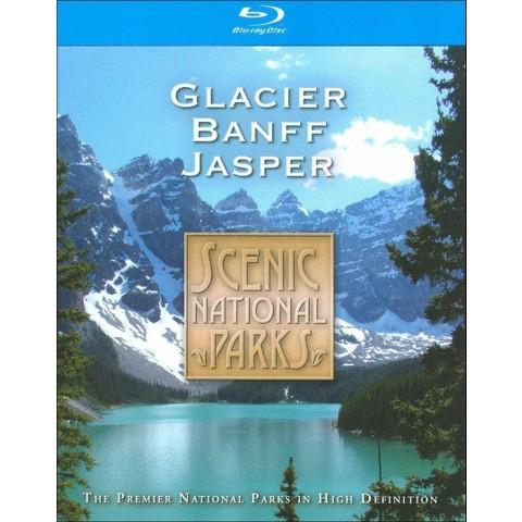 Scenic National Parks: Glacier, Banaff & Jasper (Blu-ray) (Widescreen)