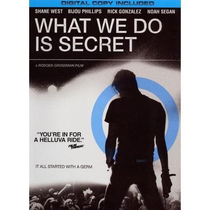 What We Do Is Secret (Includes Digital Copy) (W) (Widescreen)