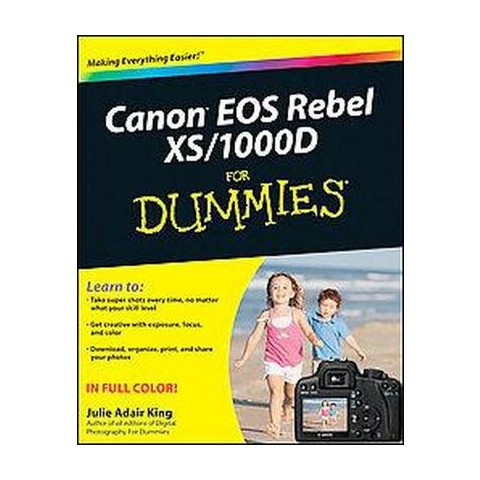 Canon EOS Digital Rebel XSi/1000D for Dummies (Paperback)