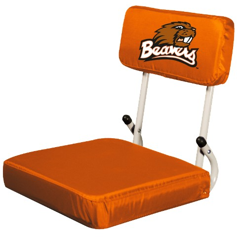Oregon State Beavers Logo Hard Back Stadium Seat - M