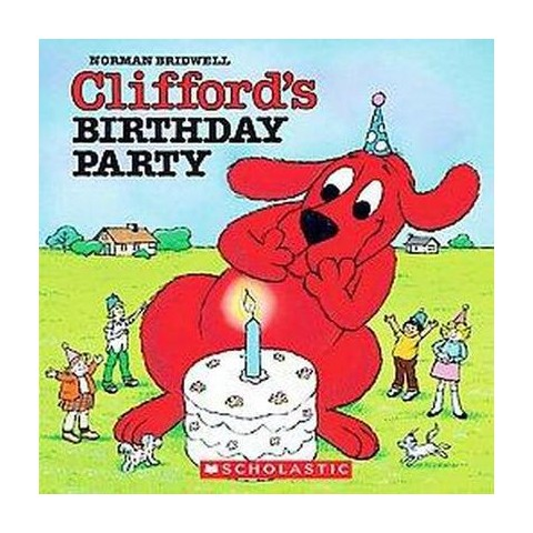 Clifford's Birthday Party (Mixed media product)