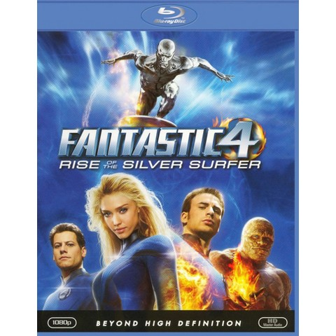 Fantastic Four: Rise of the Silver Surfer (Blu-ray) (Widescreen) (Dual-layered DVD)