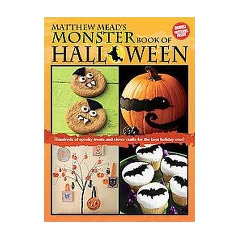 Matthew Mead's Monster Book of Halloween (Paperback)