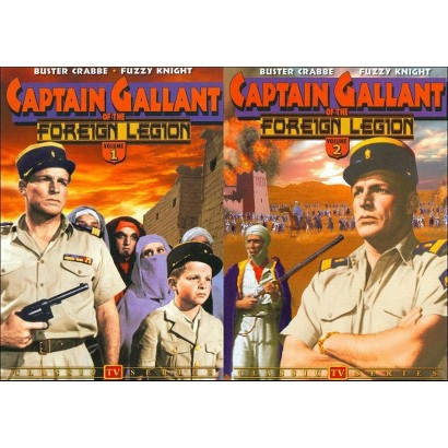 Captain Gallant of the Foreign Legion, Vols. 1 & 2 (2 Discs)