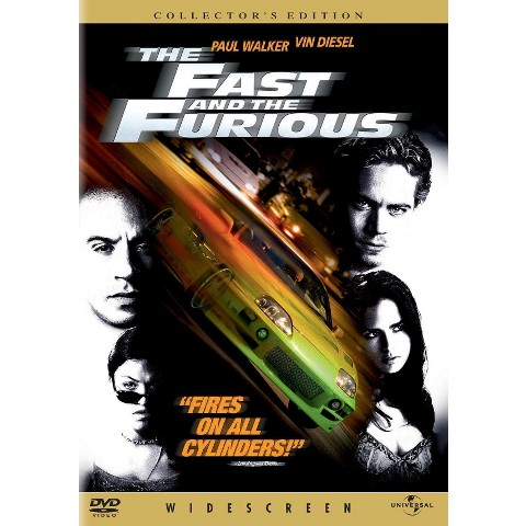 The Fast and the Furious (S) (Widescreen)