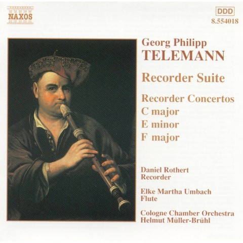 Telemann: Suite & Concerto for Recorder