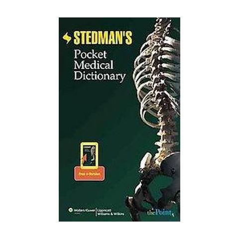 Stedman's Pocket Medical Dictionary (Paperback)