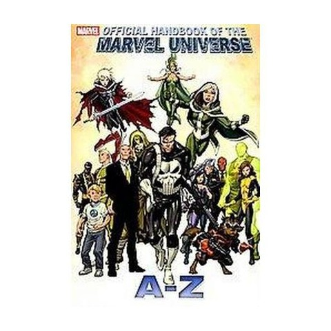 Official Handbook of the Marvel Universe a to Z 9 (Hardcover)