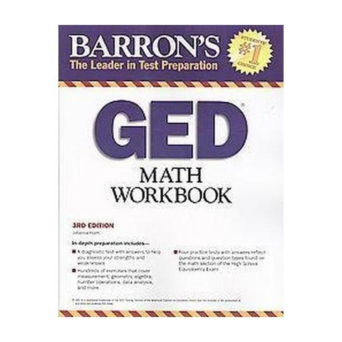Barron's GED Math Workbook (Paperback)