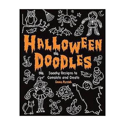 Halloween Doodles (Paperback)
