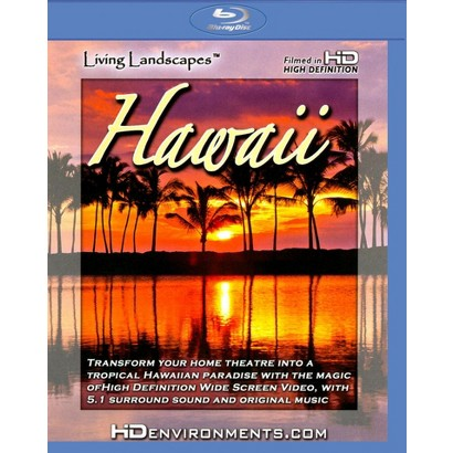 Living Landscapes: Hawaii (Blu-ray)