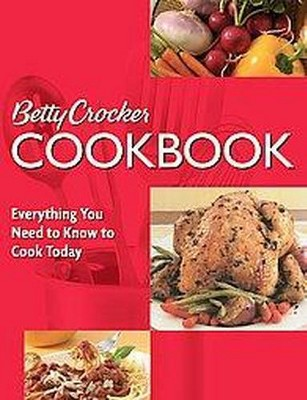 Betty Crocker Cookbook (Paperback)