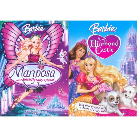 Barbie Mariposa and Her Butterfly Friends/Barbie and the Diamond Castle (2 Discs) (Widescreen)