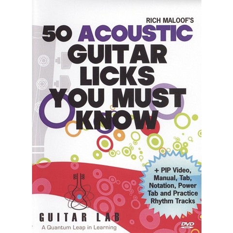 50 Acoustic Guitar Licks You Must Know!