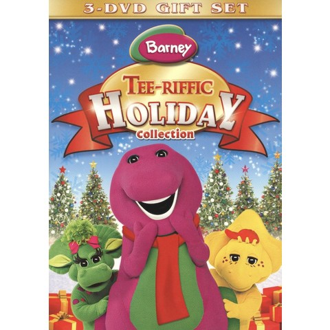 Barney: Tee-riffic Holiday Collection (3 Discs)