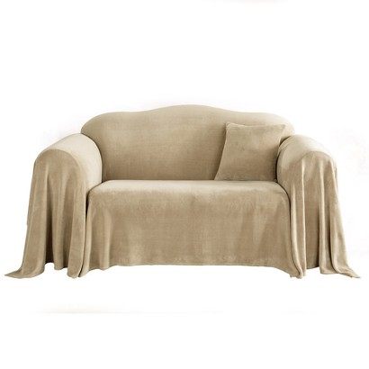 Sure Fit Plush Furniture Throw