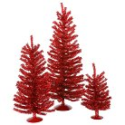 "12""/18""/24"" Mini Christmas Tree Set"