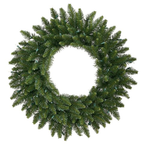"Camdon Fir Wreath - Dark Green (30"")"