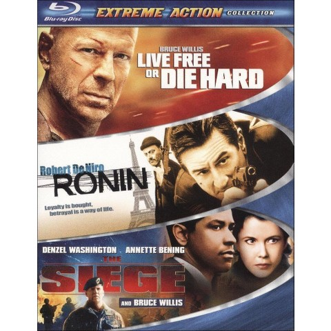 Extreme Action 3-Pack (Blu-ray)