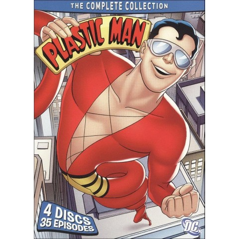 Plastic Man: The Complete Collection (4 Discs)