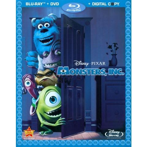 Monsters, Inc. [4 Discs] [Includes Digital Copy] [Blu-ray/DVD]