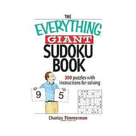 The Everything Giant Sudoku Book (Paperback)