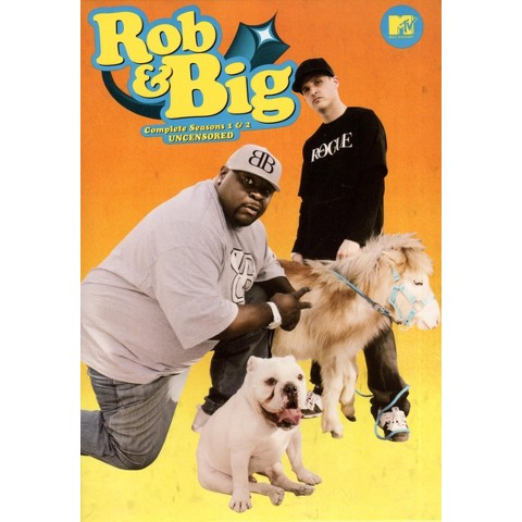 Rob and Big: Complete Seasons 1 and 2 Uncensored  (4 Discs)