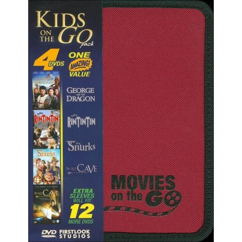 Kids on the Go Pack: George & the Dragon/Finding Rin Tin Tin/The Snurks/Secret of the Cave (4 Discs