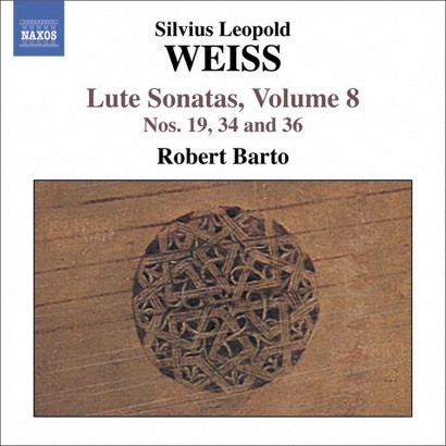 Weiss: Lute Sonatas, Vol. 8