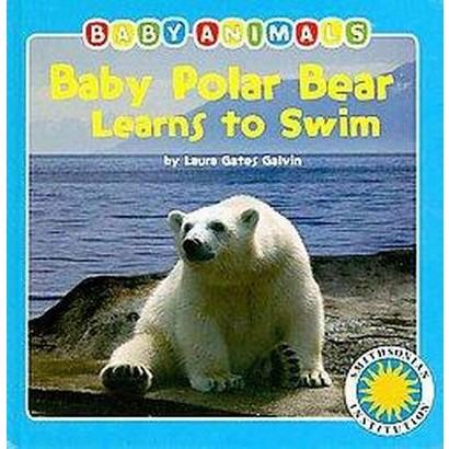 Baby Polar Bear Learns to Swim (Board)