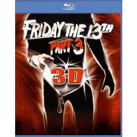 Friday the 13th, Part 3 3D [With Two Pairs of 3D Glasses] [Blu-ray]