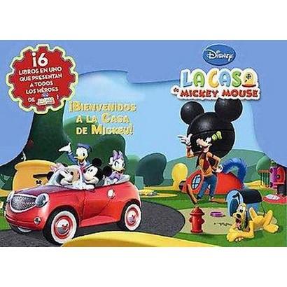 Bienvenidos a la casa de Mickey/ Welcome to the Mickey Mouse Club House (Hardcover)