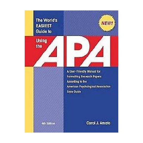 The World's Easiest Guide to Using the APA (Spiral)