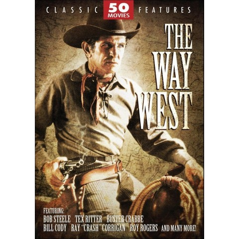 The Way West: 50 Movie Pack (12 Discs)