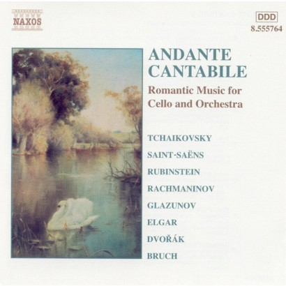 Andante Cantabile: Romantic Music for Cello and Orchestra