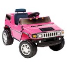 Kid Motorz Hummer H2 6V Ride On - Pink