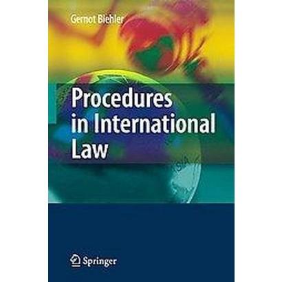 Procedures in International Law (Hardcover)
