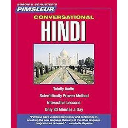 Pimsleur Conversational Hindi (Compact Disc)