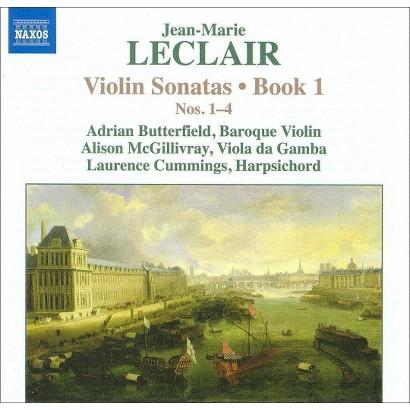 Jean-Marie Leclair: Violin Sonatas Nos. 1-4, Book 1