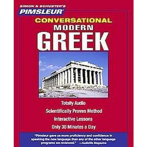 Pimsleur Conversational Modern Greek (Compact Disc)