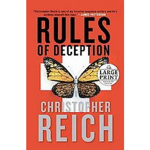 Rules of Deception (Large Print) (Paperback)