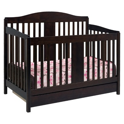 DaVinci Richmond 4-in-1 Crib with Toddler Rail - Espresso