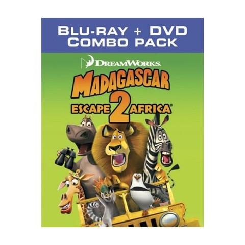 Madagascar 2: Escape 2 Africa Blu-Ray/DVD Combo Pack - Only at Target