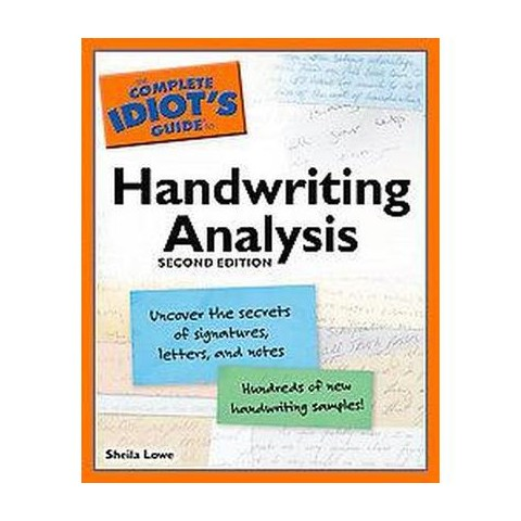 The Complete Idiot's Guide to Handwriting Analysis (Paperback)