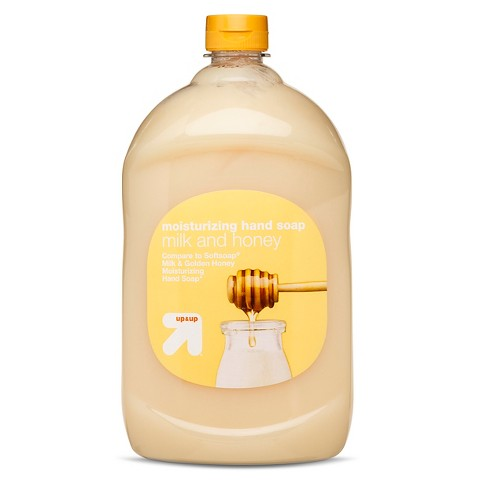 up & up™ Milk and Honey Hand Soap Refill - 64 oz