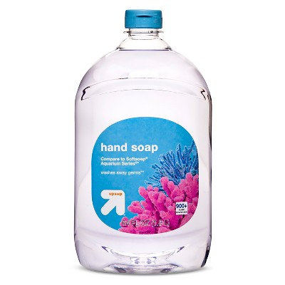 Antibacterial Clear Hand Soap Refill - 64 oz - up & up™