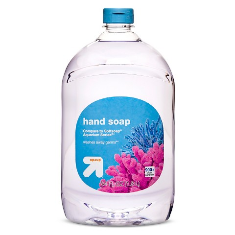up & up™ Antibacterial Clear Hand Soap Refill - 64 oz