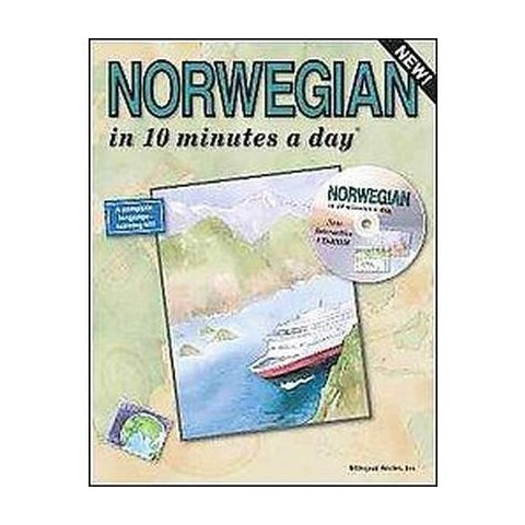Norwegian in 10 Minutes a Day with CD-ROM (Mixed media product)